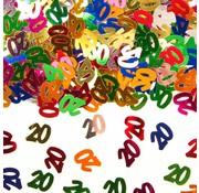 Confetti 20 Jaar Multicolor