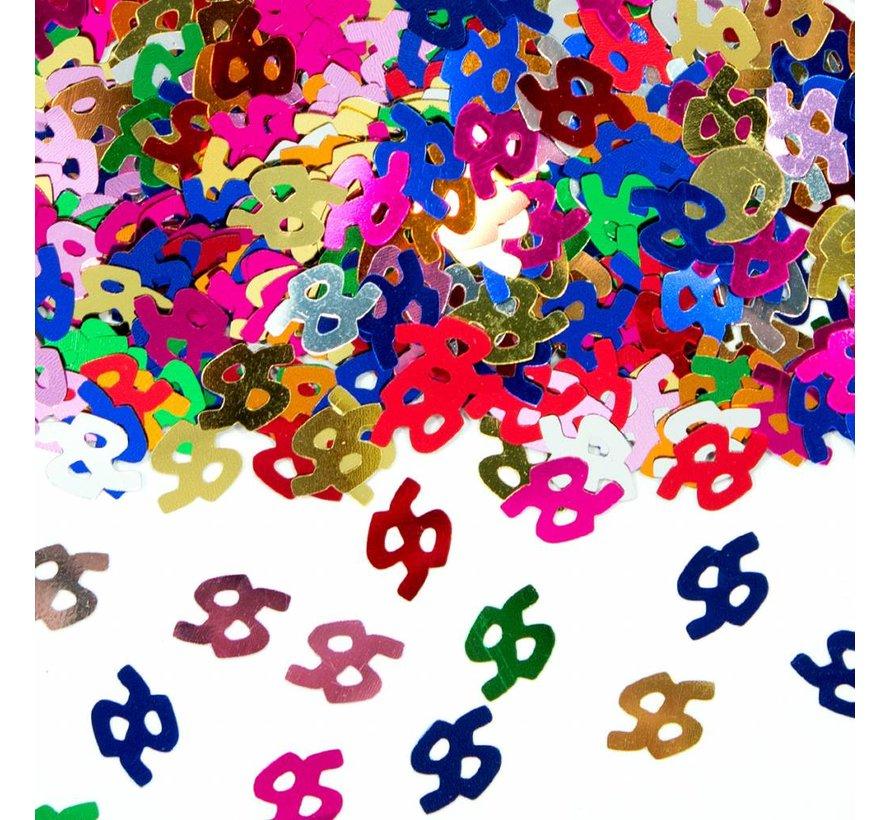 Confetti 95 Jaar Multicolor