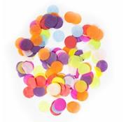 Ronde Confetti Groot Multicolor