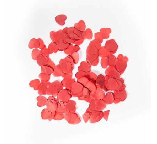 Confetti Groot Rode Hartjes