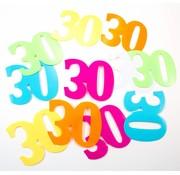 Tafelconfetti XL 30 jaar