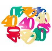 Tafelconfetti XL 40 jaar