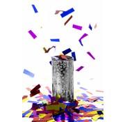 Tafel Confettibom Zilver