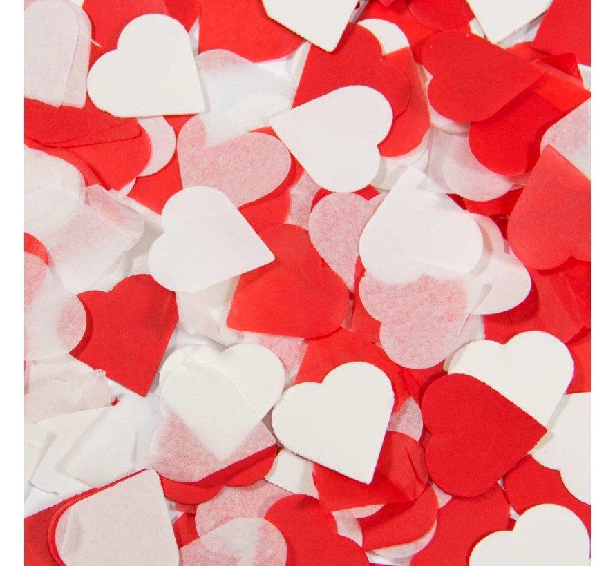 Confetti Party Popper Hartjes - 28 cm