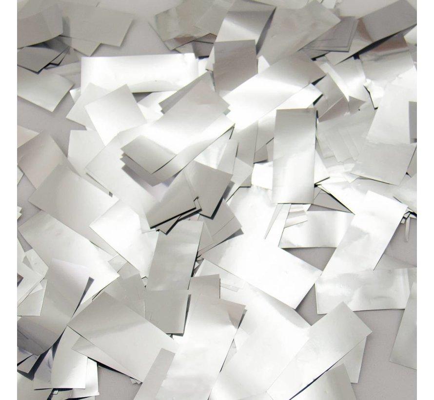 Confetti Party Popper Zilver - 57 cm