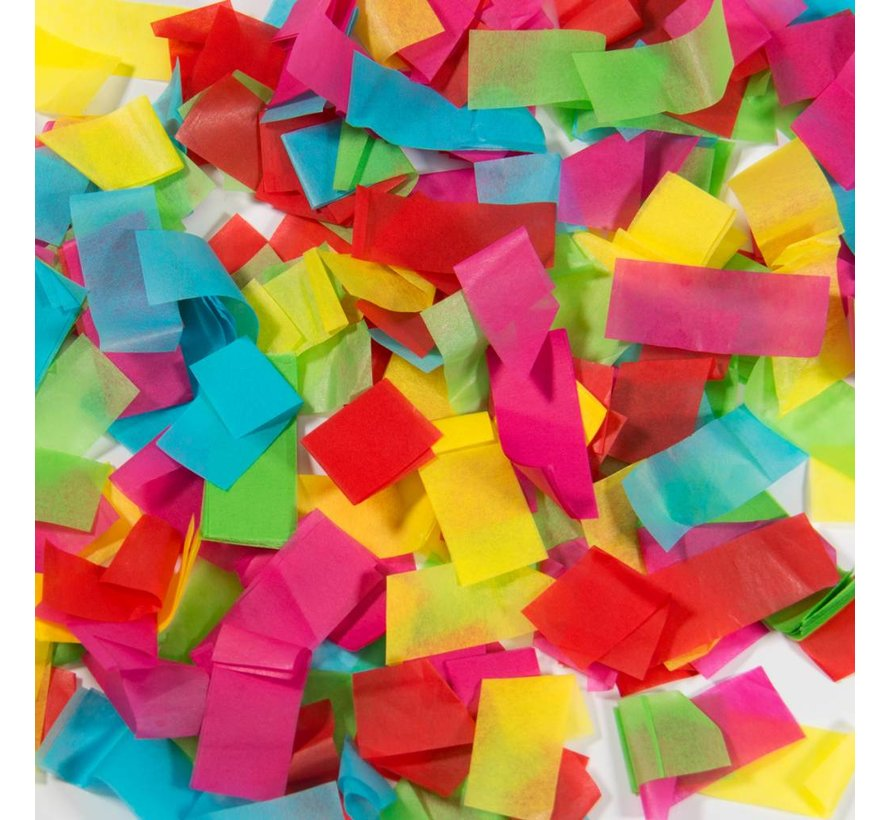 Confetti Party Popper Kleuren Mix - 28 cm
