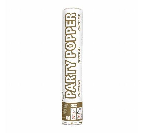 Party Popper Goud & Zilver - 26 cm