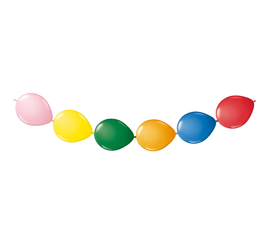 Folatex Ballonslinger Multicolor - 8 stuks