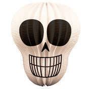 Lampion Skull - per stuk