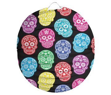 Lampion Day Of The Dead - per stuk