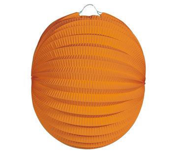 Lampion Oranje - per stuk
