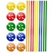 Ballonhouders + Dopjes Assorti - 10 stuks