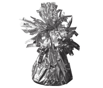 Ballon Gewicht Zilver - per stuk