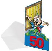 Abraham Uitnodiging - 8 stuks