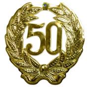 50 Jaar Muurdecoratie 3D - per stuk