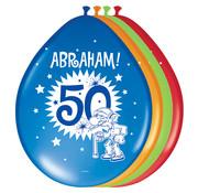 Abraham Folatex Ballon - 8 stuks