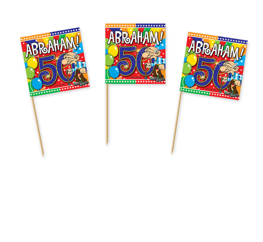 Abraham Feestprikkers - 50 stuks