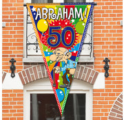 Abraham Vlag XL - per stuk