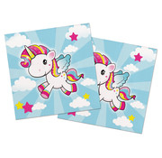 Unicorn Uitnodigingen - 8 stuks