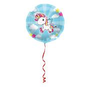 Folie Ballon Unicorn - per stuk