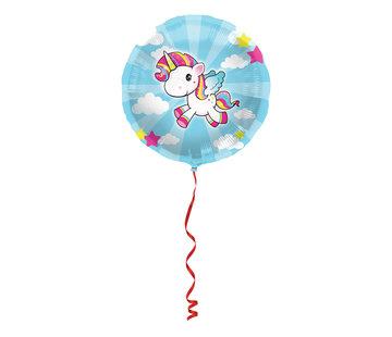 Folieballon Unicorn 45 cm - per stuk