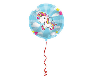 Folieballon Unicorn - per stuk