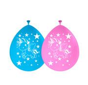 Unicorn Ballonnen 30 cm - 8 stuks