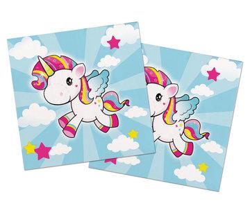 Unicorn Servetten - 20 stuks
