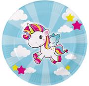 Unicorn Bordjes - 8 stuks