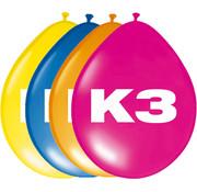 K3 Ballonnen 30 cm - 8 stuks