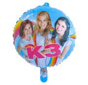 K3 Folieballon 46cm - per stuk