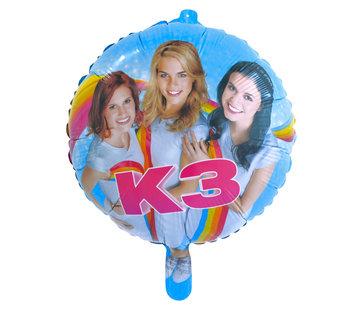 K3 Folieballon - per stuk