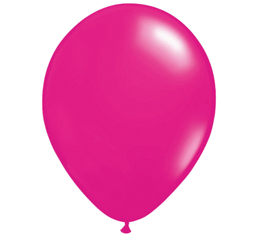 Folatex Ballon Magenta 30cm - 100 stuks