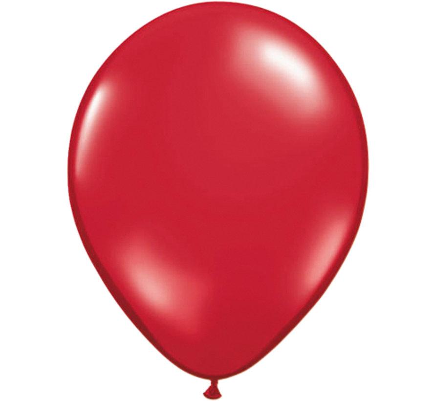 Folatex Ballon Ruby Rood 30cm - 100 stuks