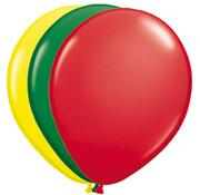 Folatex Ballonnen Rood/Groen/Geel - 25 stuks