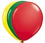 Folatex Ballonnen Rood/Groen/Geel 25cm - 25 stuks