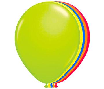 Folatex Ballonnen Neon Assorti 25cm - 8 stuks