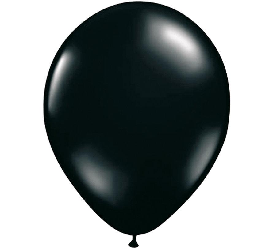 Folatex Ballonnen Zwart 30cm - 10 stuks