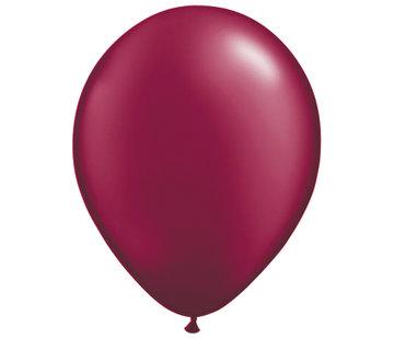 Folatex Ballonnen Burgundy 30cm - 10 stuks