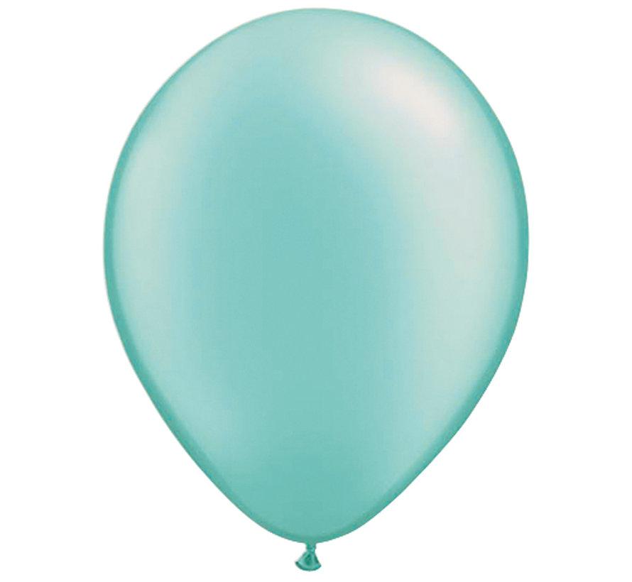 Folatex Ballonnen Turquoise 30cm - 10 stuks