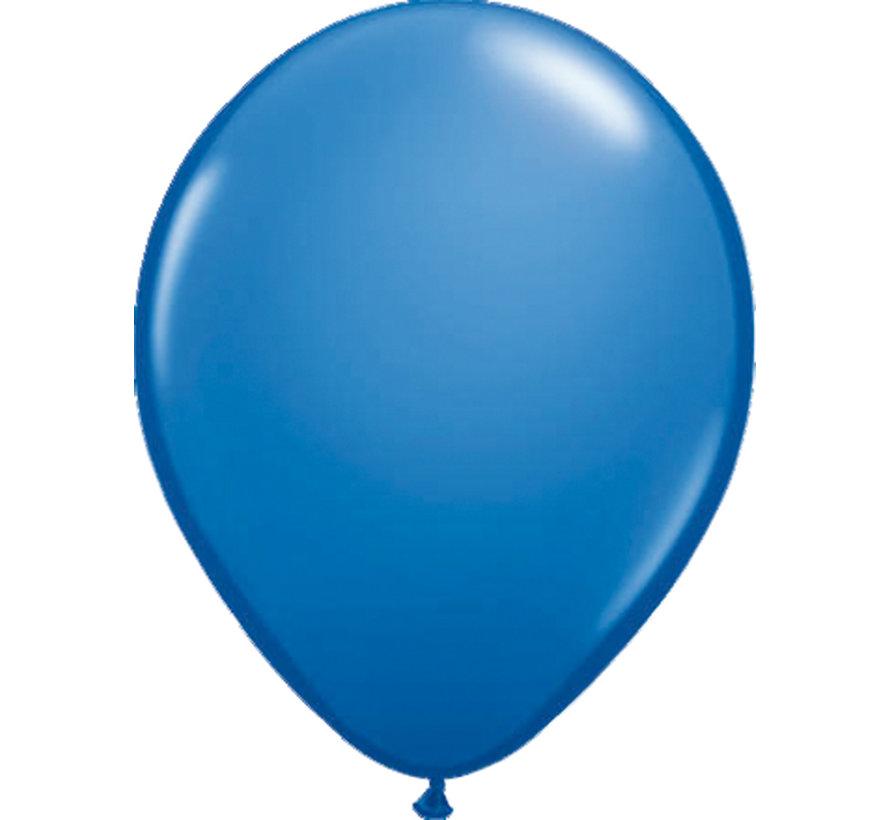 Folatex Ballonnen Metallic Donkerblauw 30cm - 10 stuks