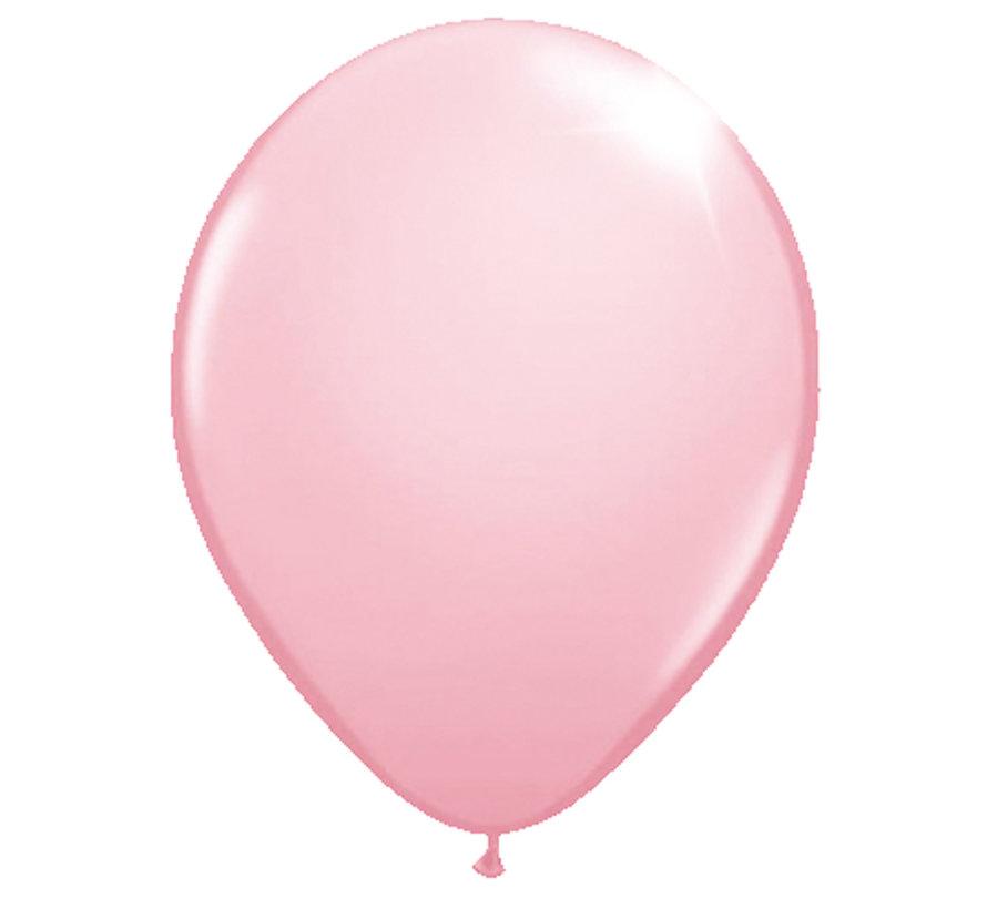 Folatex Ballonnen Metallic Roze 30cm- 10 stuks