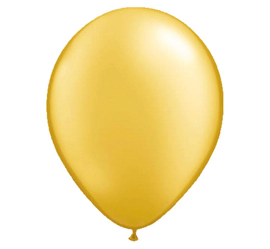 Folatex Ballonnen Metallic Goud 30cm - 10 stuks