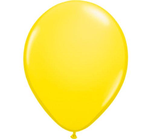 Folatex Ballonnen Metallic Geel 30cm - 10 stuks