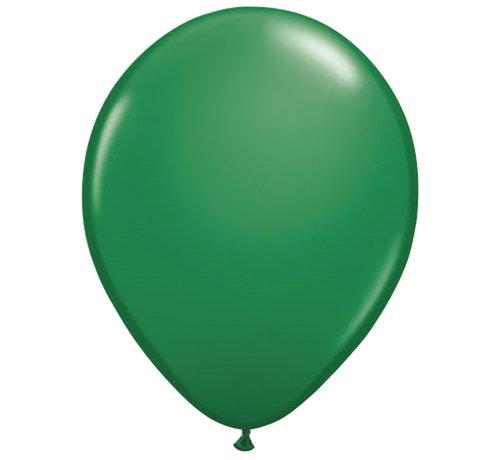 Folatex Ballonnen Metallic Donkergroen 30cm - 10 stuks