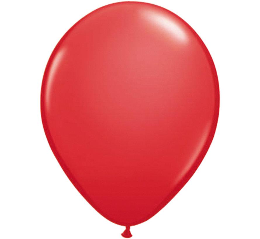 Folatex Ballonnen Metallic Rood 30cm - 10 stuks