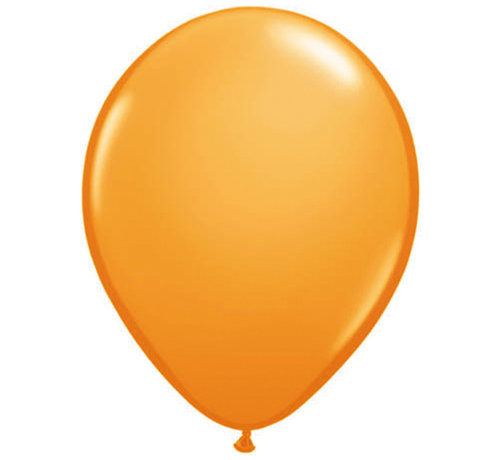 Folatex Ballonnen Metallic Oranje 30cm - 10 stuks
