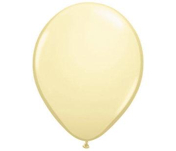 Folatex Ballonnen Metallic Ivoor - 10 stuks