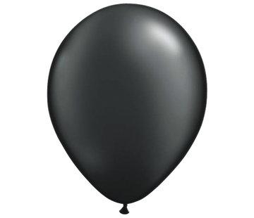 Folatex Ballonnen Metallic Zwart 30cm - 10 stuks