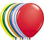 Folatex Ballonnen Metallic Assorti 30cm - 10 stuks